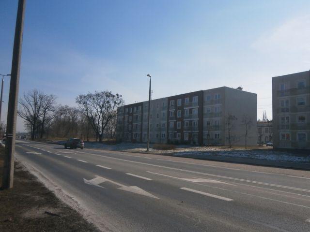 ul. Andersa 79/ściana budynku (od strony średnicówki)
