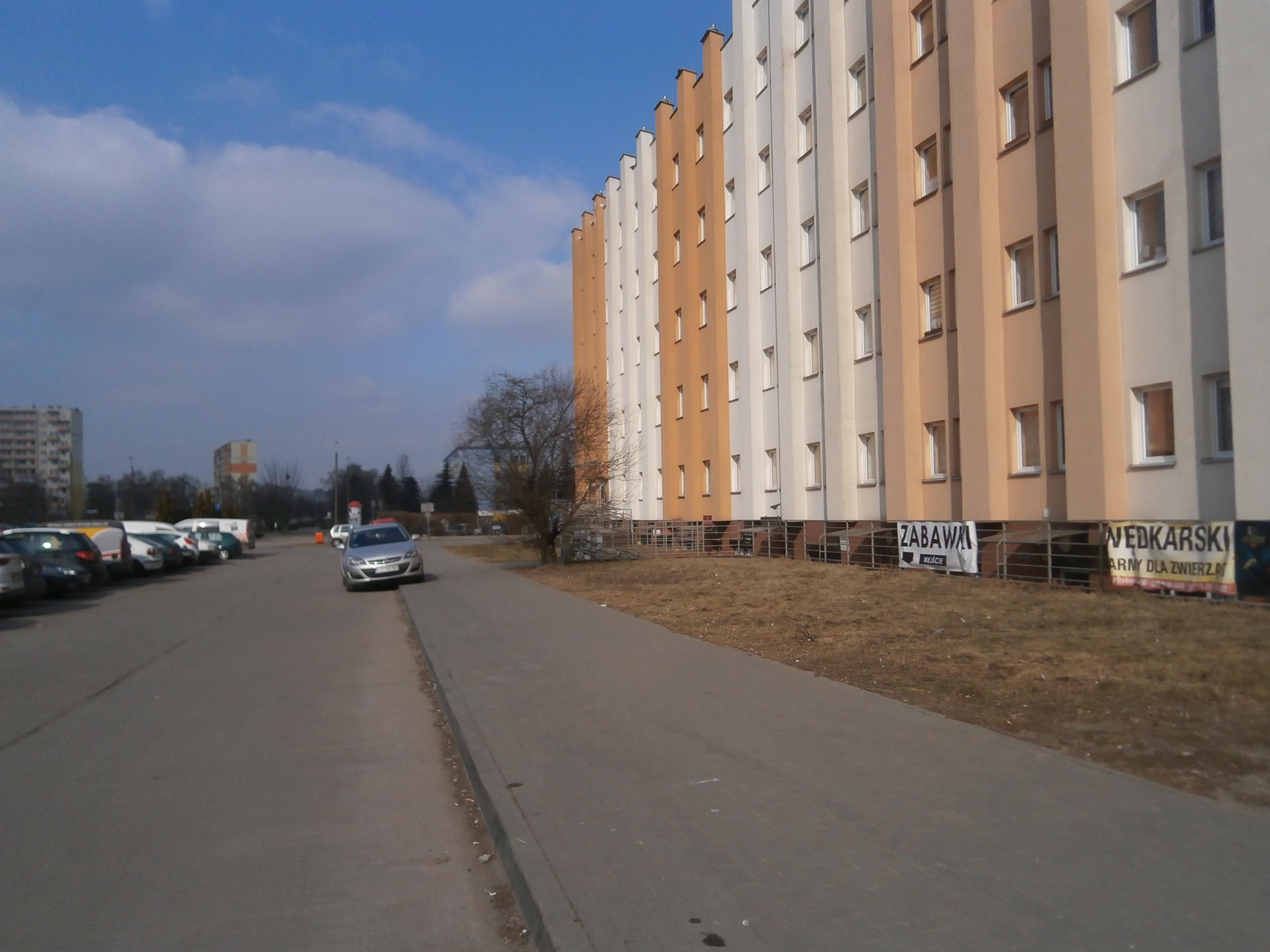 ul. Działowskiego 8/ balustrada