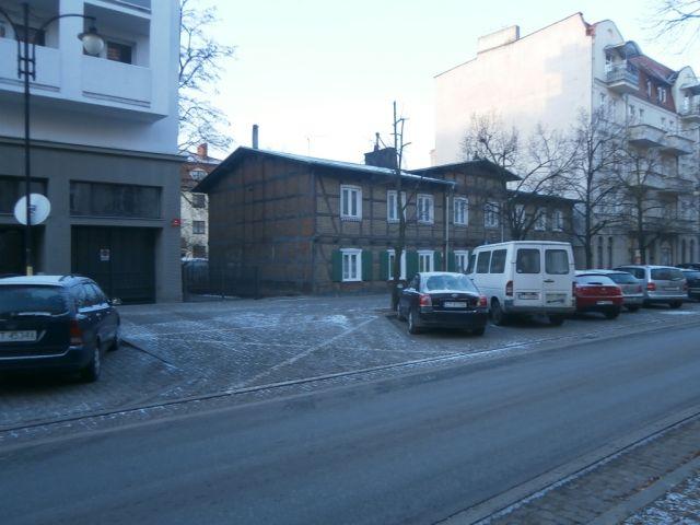 ul. Mickiewicza 45/ściana budynku