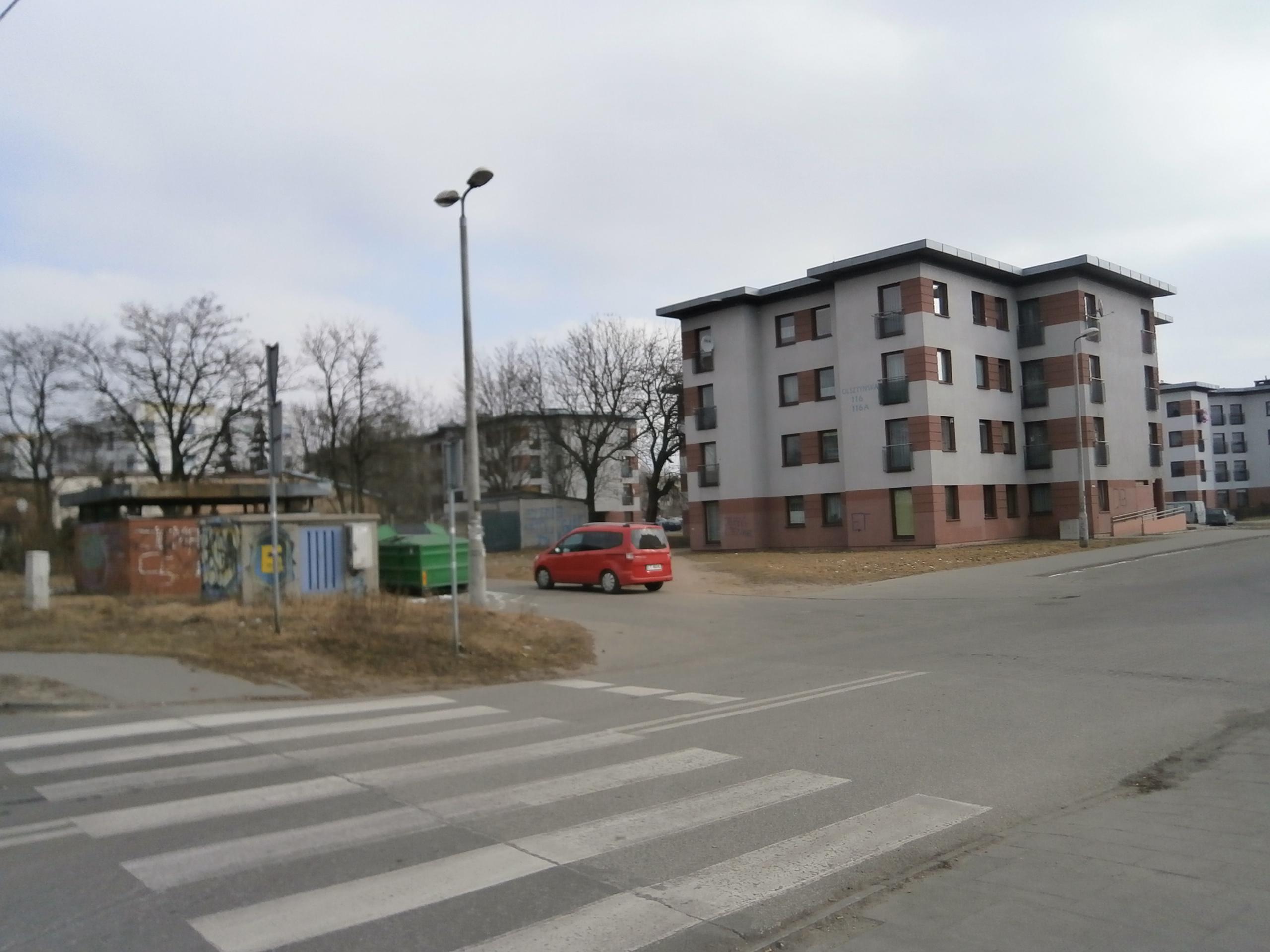 ul. Olsztyńska 116/teren