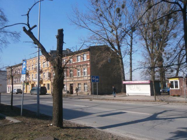 ul. Poznańska 66/ściana budynku